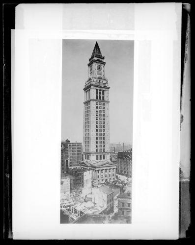 Custom House tower, Boston, Mass.