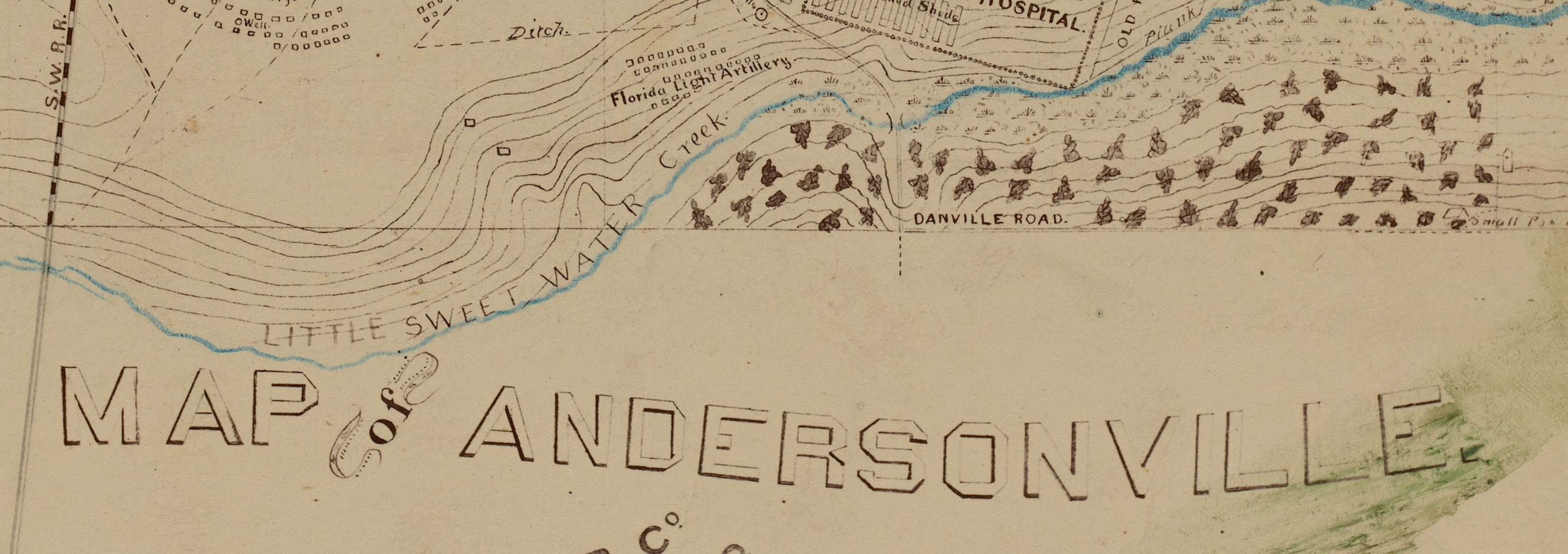 A Civil War map goes on trial