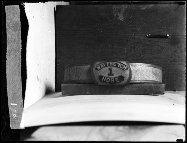 W. M. French hose belt