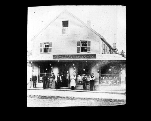 George. F. Wilson store