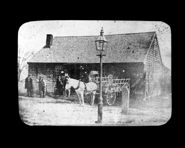 Deacon Josiah Savil blacksmith shop