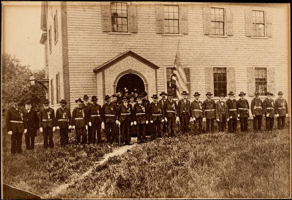 Photograph of Essex GAR members