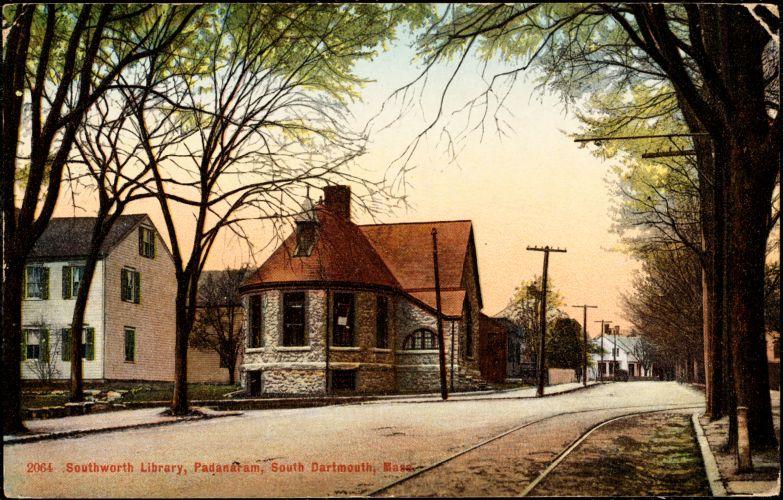 Southworth Library, Padanaram, South Dartmouth, Mass.