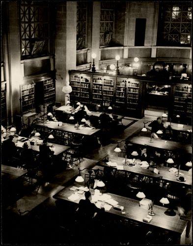 Boston, Bates Hall, Copley Sq. Library