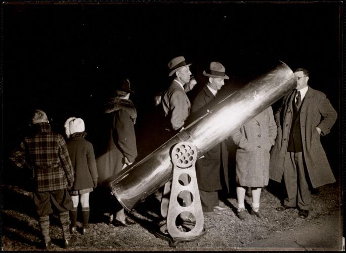 An amateur telescope maker's telescope