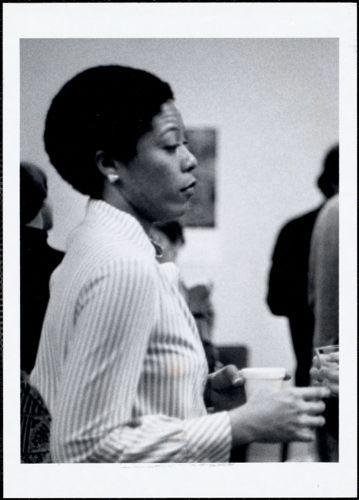 Arlinda Halliburton, res. adv., east, 1979-80