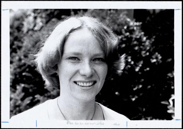 Laurie Hoover-Siegel 6-77, village coordinator