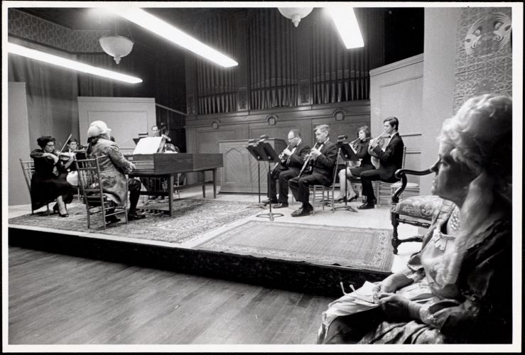 18th century concert, March 1969