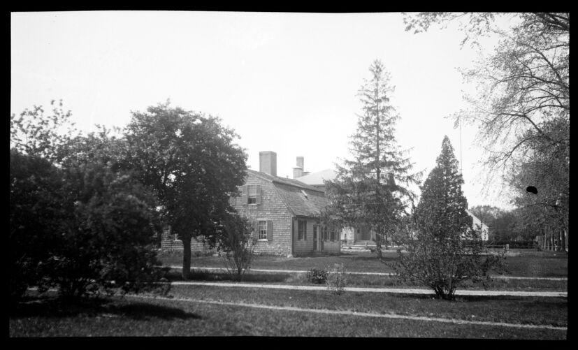 Cobb-Bartlettt-Hathaway House, 240 Main Street, from the northeast