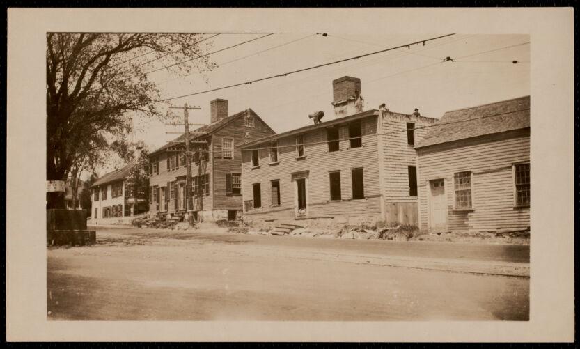 Demolition of Foster-Drew-Glover House, 5 Summer Street