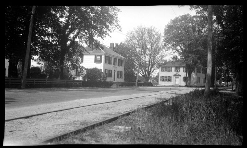 Captain Peleg Tupper House, 228 Main Street (on left) and Joseph Holmes House, 232 Main Street