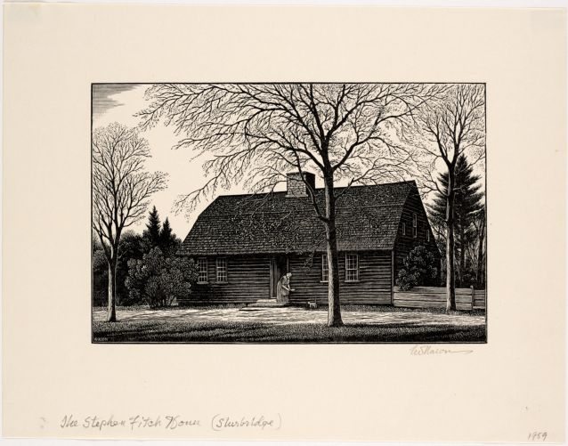 Stephen Fitch House, 1737