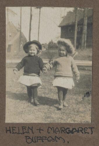 Waban photographs - Helen and Margaret Buffam -