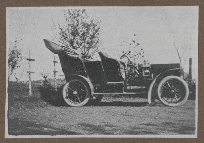 Waban photographs - Antique Automobile -