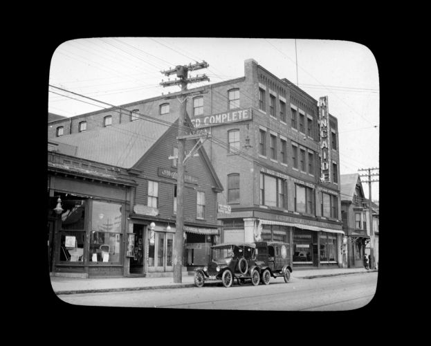 Kincade's Furniture Store. Hancock Street May 2, 1923