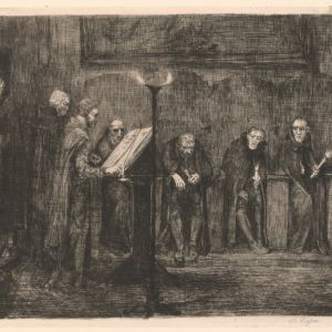 Alphonse Legros (1837-1911). Prints and Drawings