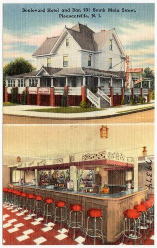 Boulevard Hotel and Bar, 201 South Main Street, Pleasantville, N. J.