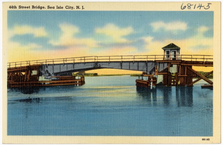 44th Street Bridge, Sea Isle City, N. J.