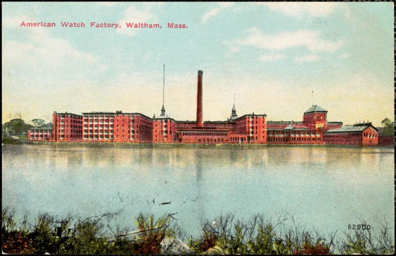American Watch Factory, Waltham, Mass.