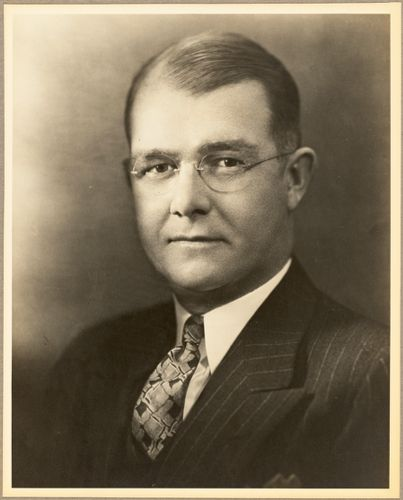 Stanley Heald, general manager 1932