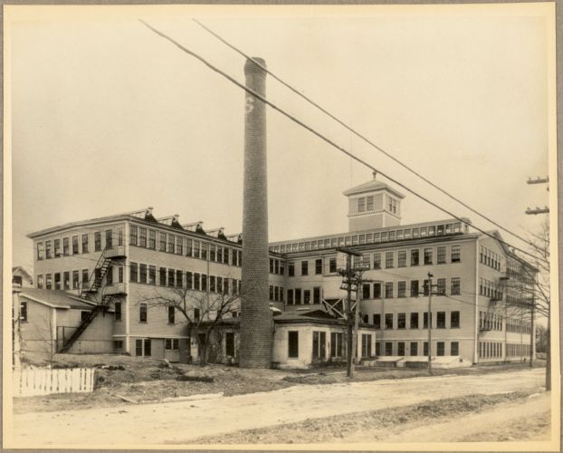Front side of factory in 1915