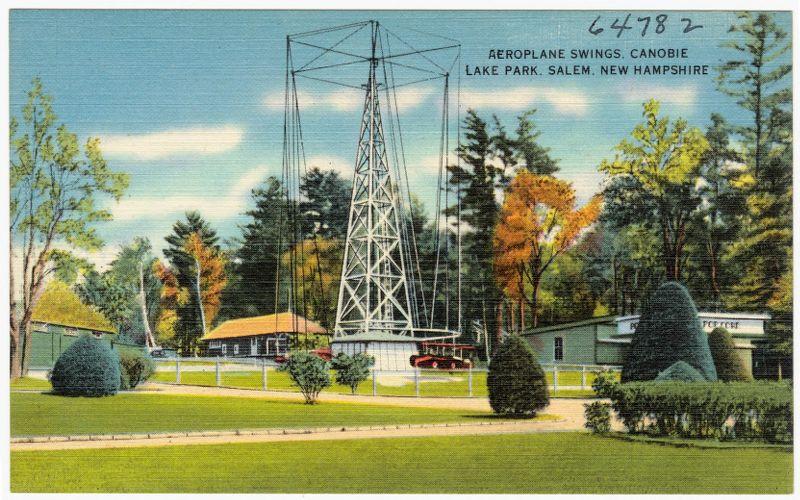 Aeroplane Swings, Canobie Lake Park, Salem, New Hampshire