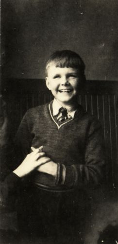 Leonard Dowdy as a Young Student at Perkins