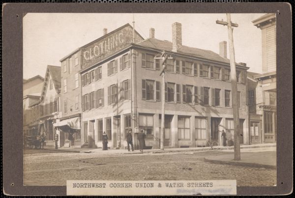 Corner of Union and Water Streets, New Bedford