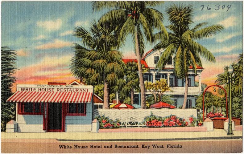 White House Hotel and Restaurant, Key West, Florida