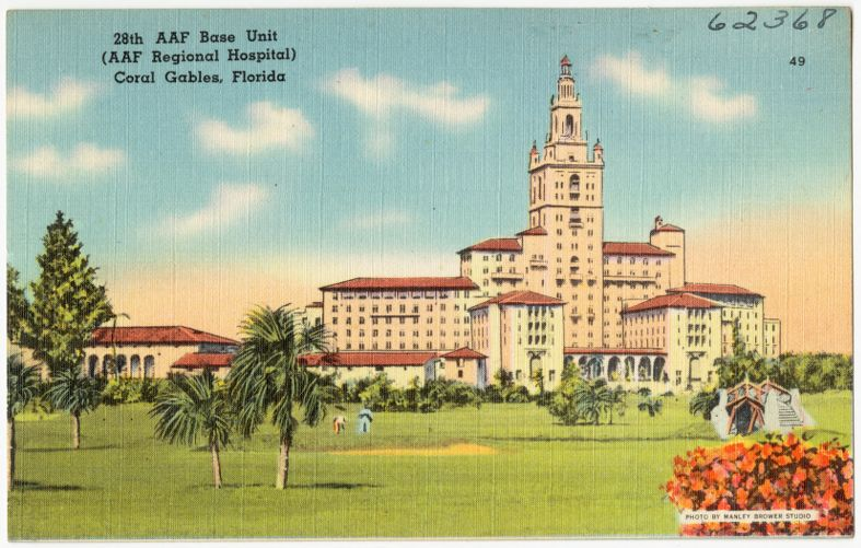 28th AAF Base Unit (AAF Regional Hospital) Coral Gables, Florida