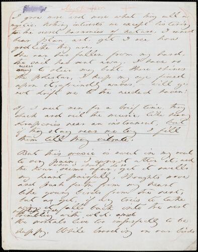 Margaret Fuller manuscript translation, 183-?