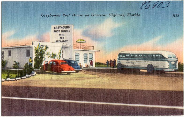 Greyhound Post House on Overseas Highway, Florida