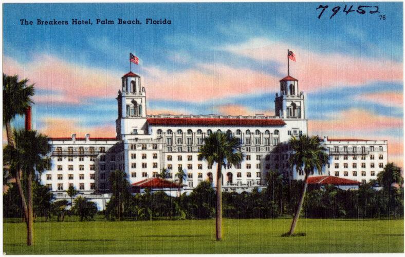 The Breakers Hotel, Palm Beach, Florida