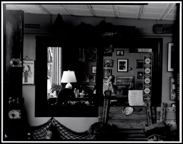 Eddie Hook in his office