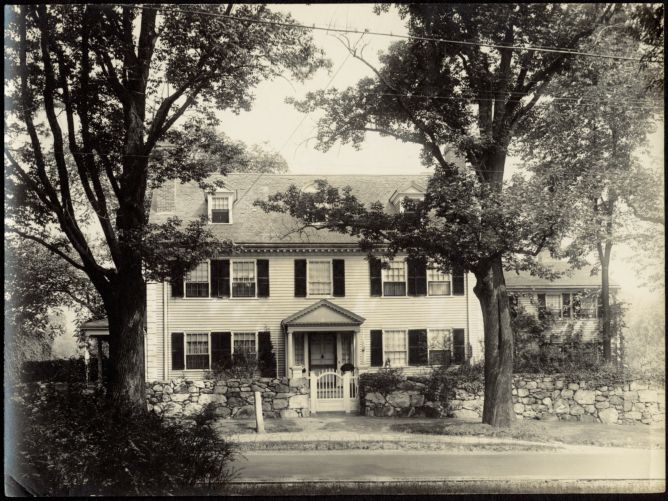 Ashdale Farm. Front of Main House.