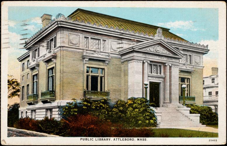 Public library, Attleboro, Mass.