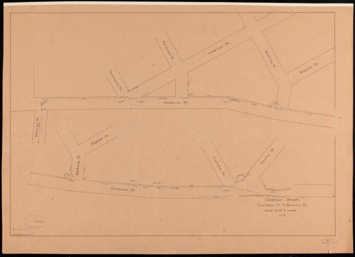 Andover Street, Carleton St. to Beacon St.