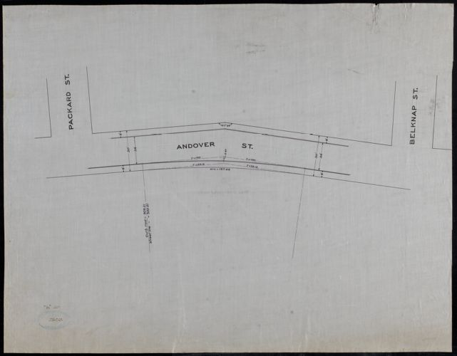 Andover St. between Packard St. and Belknap St.