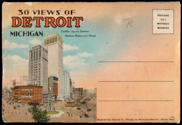 30 views of Detroit, Michigan