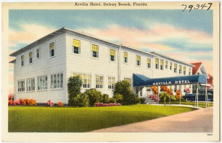 Arvilla Hotel, Delray Beach, Florida