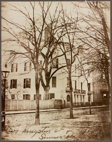 Cor. Kingston St. & Summer St., 1851