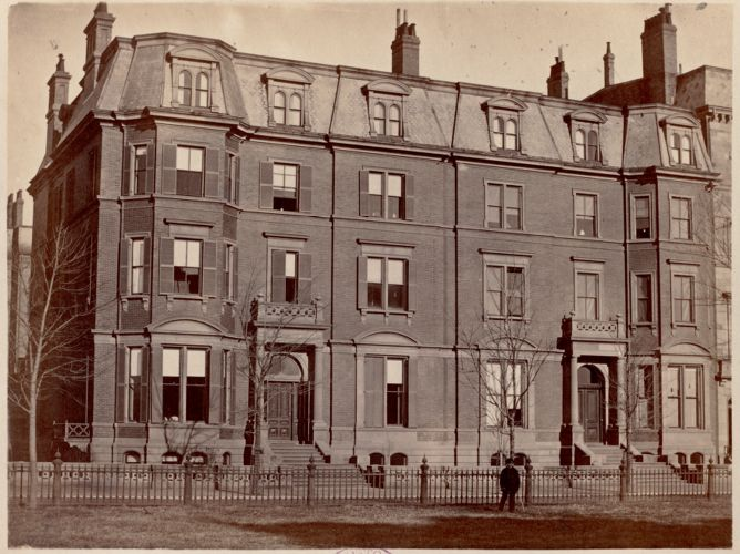 Residence of A. Lawrence and B. S. Rotch
