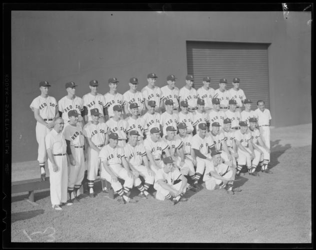1955 Bo Sox team picture