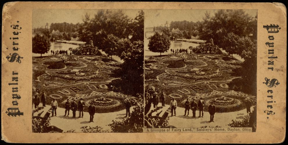 """""""A glimpse of fairy land,"""" Soldiers' Home, Dayton, Ohio"""