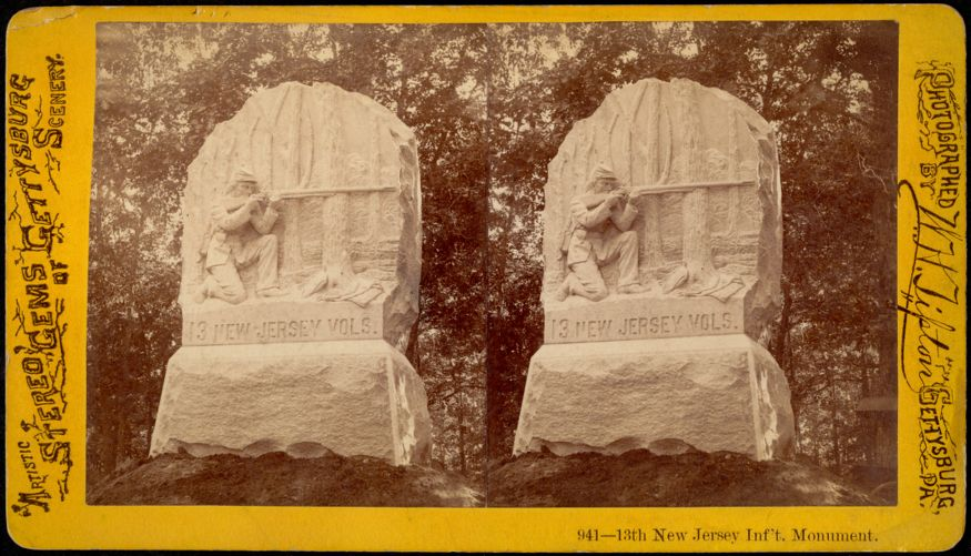 13th New Jersey Inf't. Monument