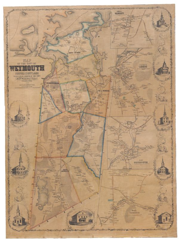 Map of the Town of Weymouth, Norfolk County, Mass.