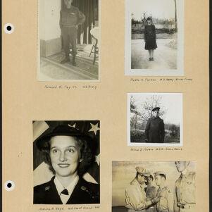 World War II Memorial Scrapbook, 1942-1948