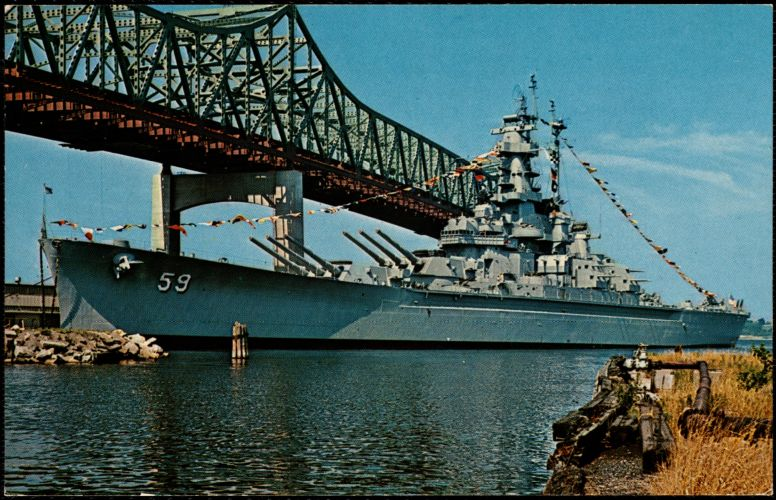 USS Massachusetts, Fall River, Mass.