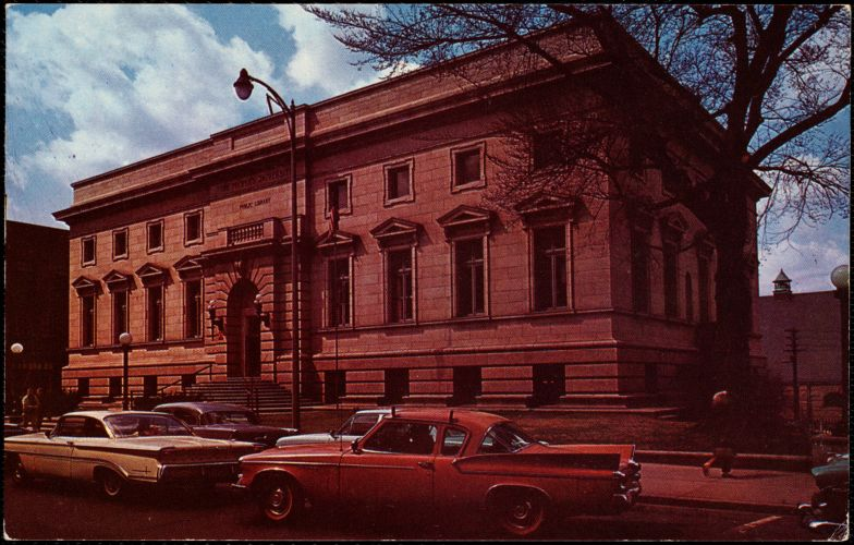 """""""People's University."""" The Public Library, Fall River, Massachusetts"""