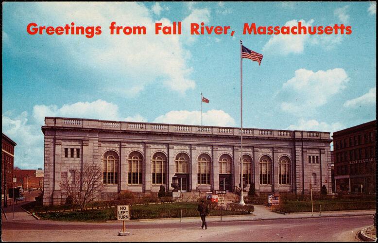 U.S. Post Office and Custom House, Fall River, Massachusetts